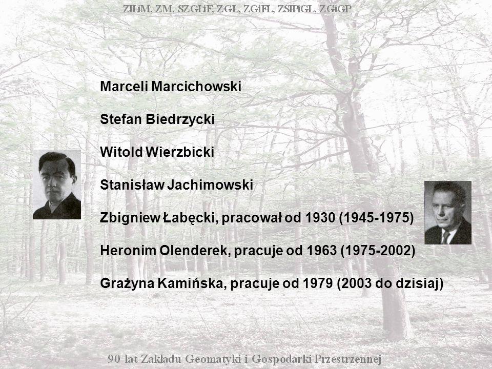 Marceli Marcichowski Stefan Biedrzycki Witold Wierzbicki Stanisław Jachimowski Zbigniew Łabęcki, pracował od 1930 (1945-1975) Heronim Olenderek, pracuje od 1963 (1975-2002) Grażyna Kamińska, pracuje od 1979 (2003 do dzisiaj)