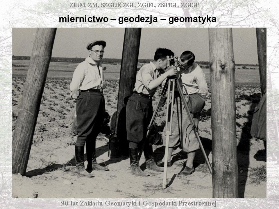 miernictwo – geodezja – geomatyka