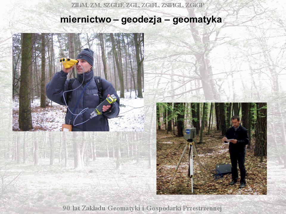Rozwój dyscypliny determinowały: zmiany w rozumieniu funkcji lasu rozwój techniki i technologii