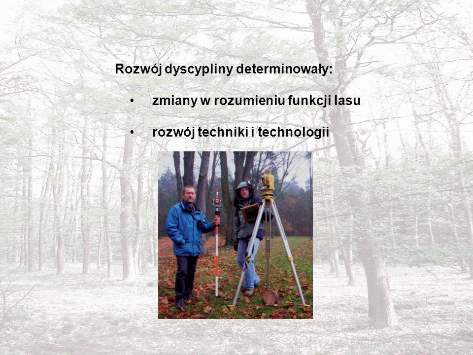 Metody zbierania, przetwarzania, analizowania i udostępniania danych przestrzennych ze szczególnym uwzględnieniem lasów różnej własności, parków zabytkowych a także szeroko rozumianego krajobrazu