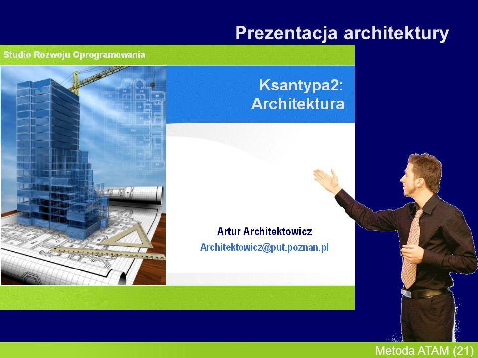 InMoST, 2007-03-09 Metoda ATAM (22) Prezentacja architektury