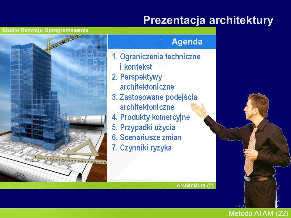 InMoST, 2007-03-09 Metoda ATAM (23) Prezentacja architektury
