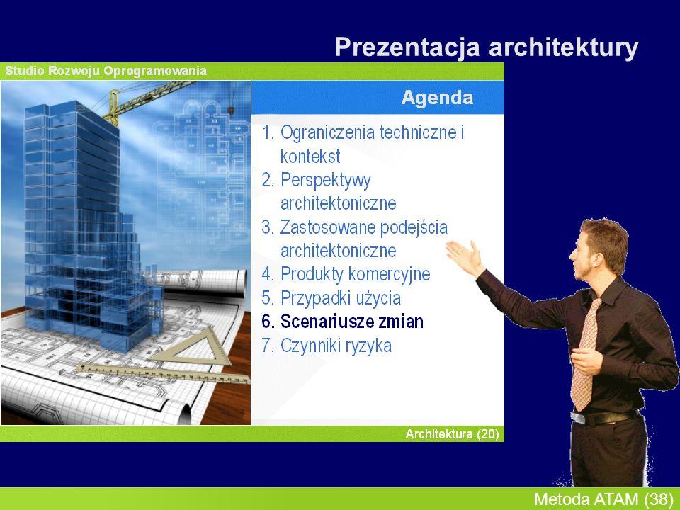 InMoST, 2007-03-09 Metoda ATAM (38) Prezentacja architektury