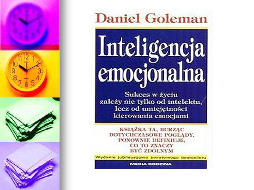 INTELIGENCJA EMOCJINALNA Inteligencja emocjonalna, - kompetencje osobiste człowieka w rozumieniu, zdolności rozpoznawania własnych oraz innych osób, jak też zdolności używania własnych emocji i radzenia sobie ze stanami emocjonalnymi innych osób.