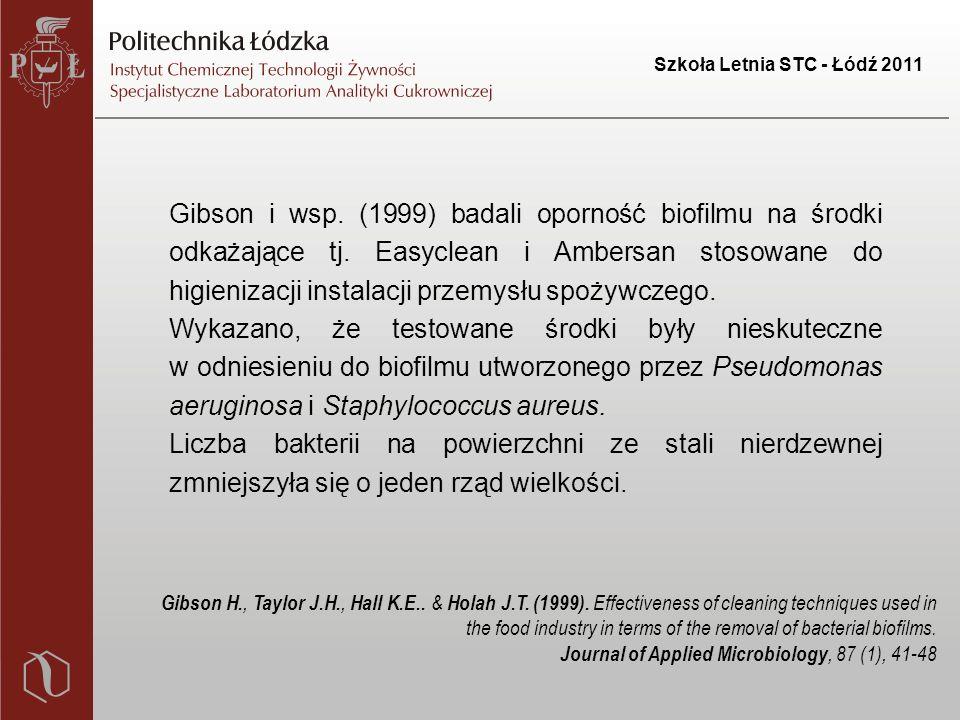 Szkoła Letnia STC - Łódź 2011 Gibson i wsp.