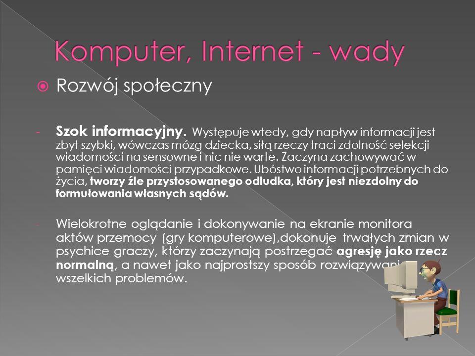  Rozwój społeczny - Szok informacyjny.