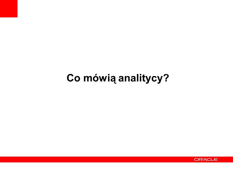 Co mówią analitycy?