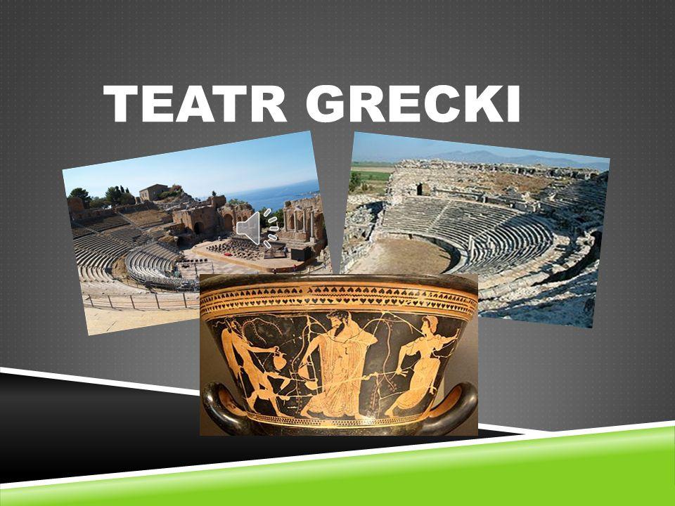 TEATR GRECKI