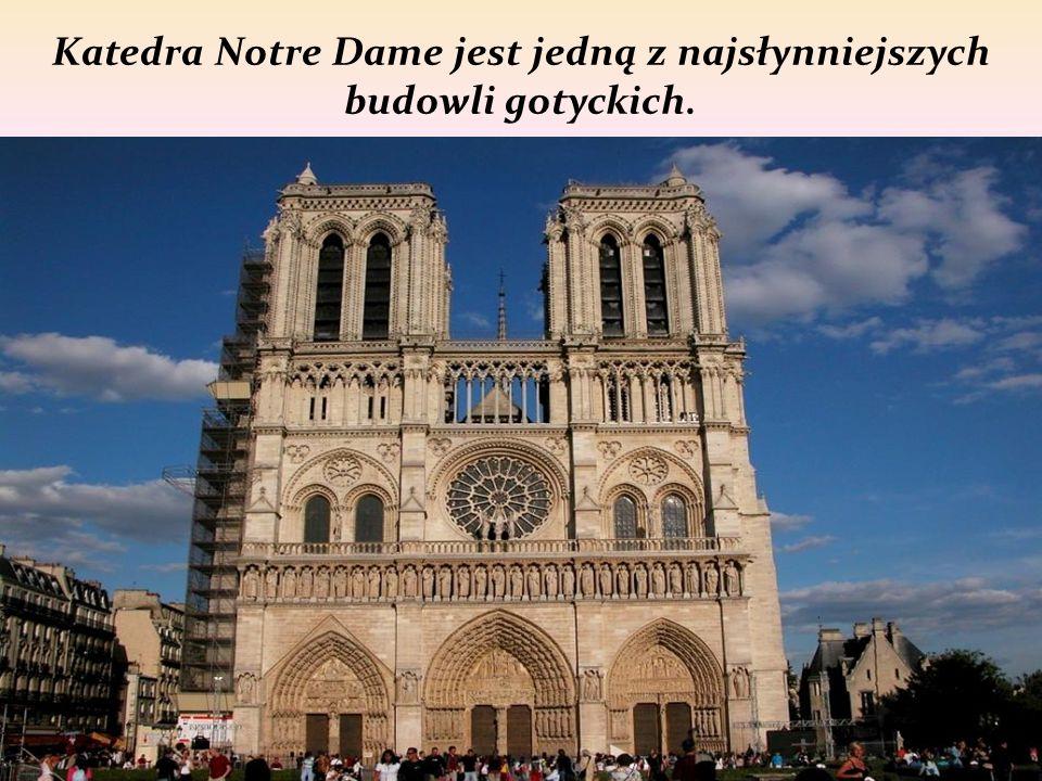 Gotyk to styl w architekturze, który powstał i rozwinął się w połowie XIIw we Francji.