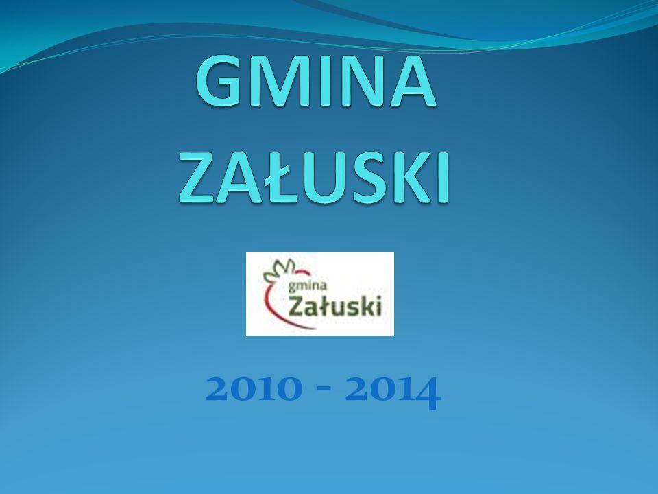 GMINA ZAŁUSKI – 2010 r.