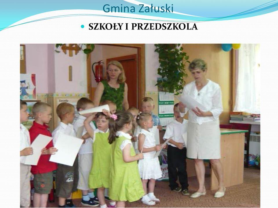 Gmina Załuski SZKOŁY I PRZEDSZKOLA
