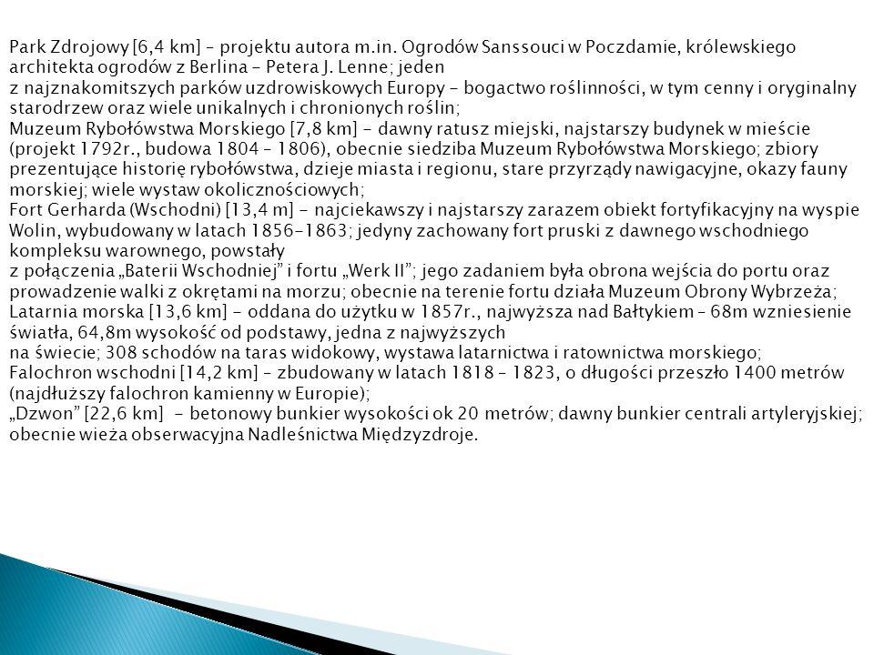 Park Zdrojowy [6,4 km] – projektu autora m.in.