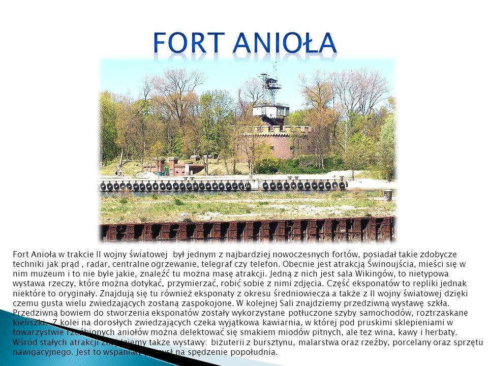 Fort Anioła w trakcie II wojny światowej był jednym z najbardziej nowoczesnych fortów, posiadał takie zdobycze techniki jak prąd, radar, centralne ogr