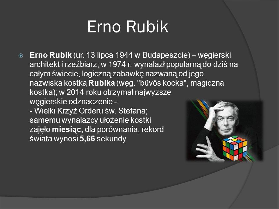 Erno Rubik  Erno Rubik (ur.