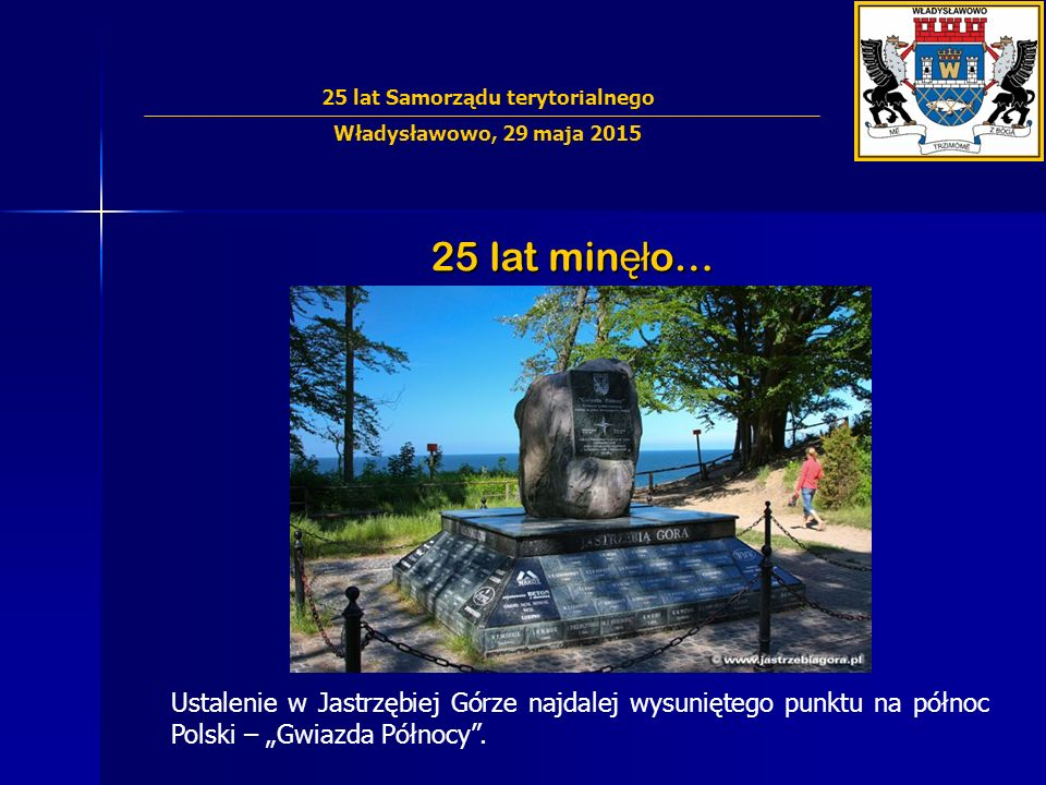 25 lat min ęł o… Budowa blisko 60 dróg, dzięki czemu komunikacja w Gminie jest usprawniona i bezpieczniejsza.