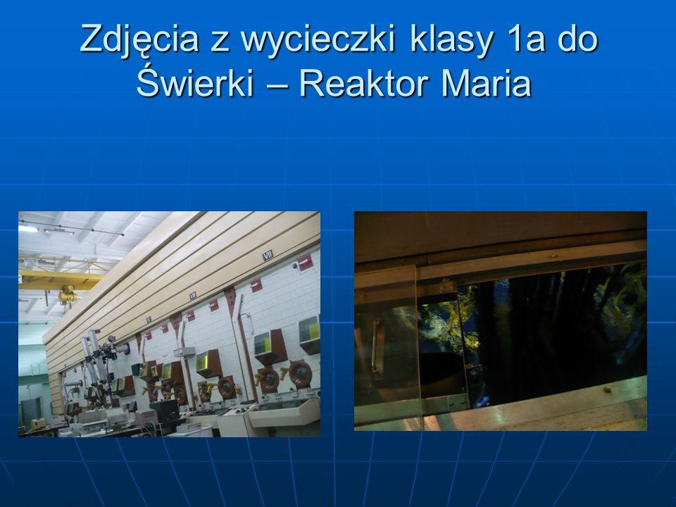 Zdjęcia z wycieczki klasy 1a do Świerki – Reaktor Maria Zdjęcia z wycieczki klasy 1a do Świerki – Reaktor Maria