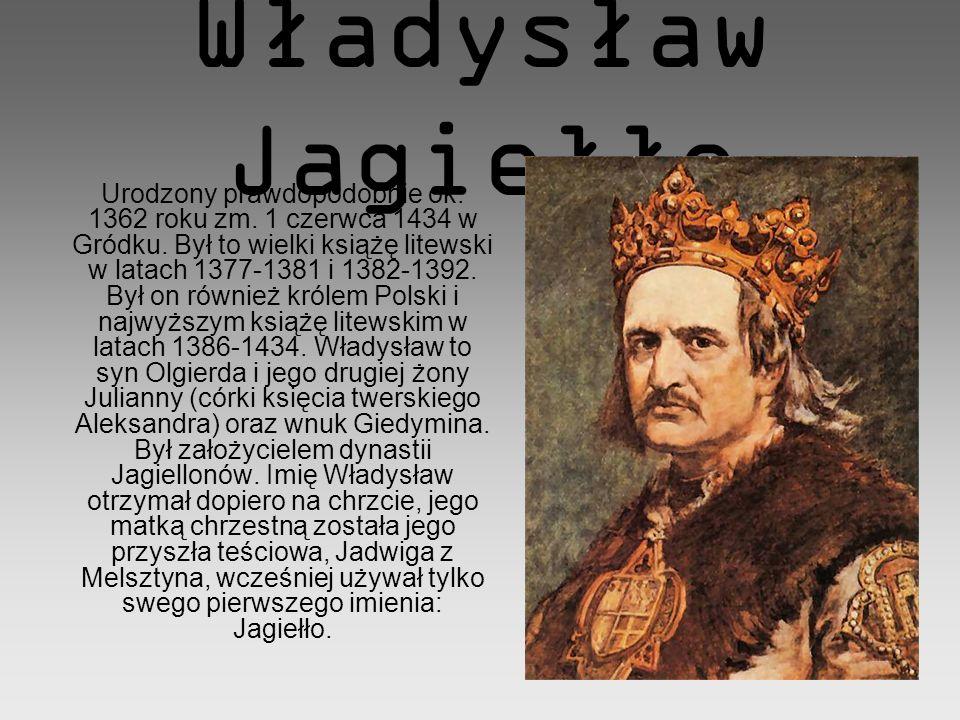 Giedymin ur.ok. 1275 zm. zima 1341 Jewna ur. ok. 1280 zm.