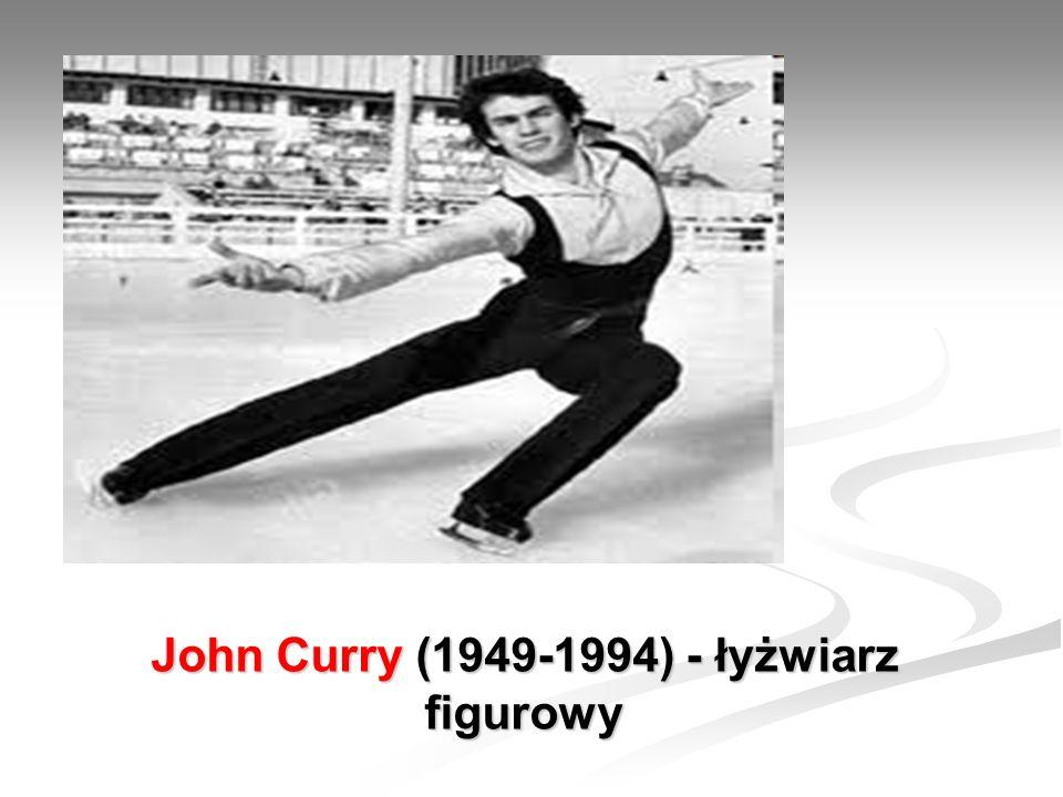 John Curry (1949-1994) - łyżwiarz figurowy