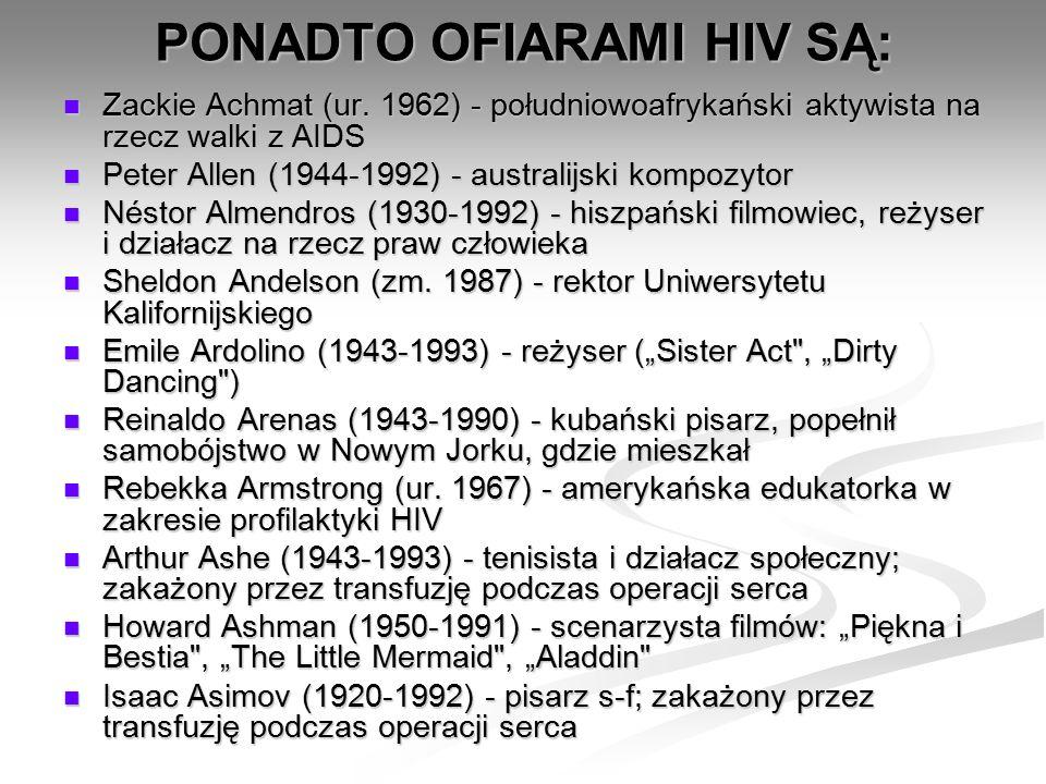 Zackie Achmat (ur. 1962) - południowoafrykański aktywista na rzecz walki z AIDS Zackie Achmat (ur. 1962) - południowoafrykański aktywista na rzecz wal