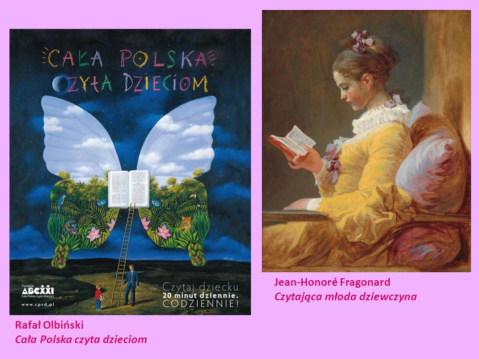 Jean-Honoré Fragonard Czytająca młoda dziewczyna Rafał Olbiński Cała Polska czyta dzieciom