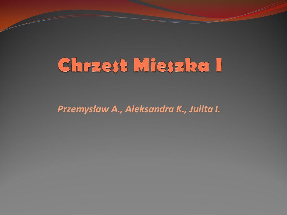 Przemysław A., Aleksandra K., Julita I.