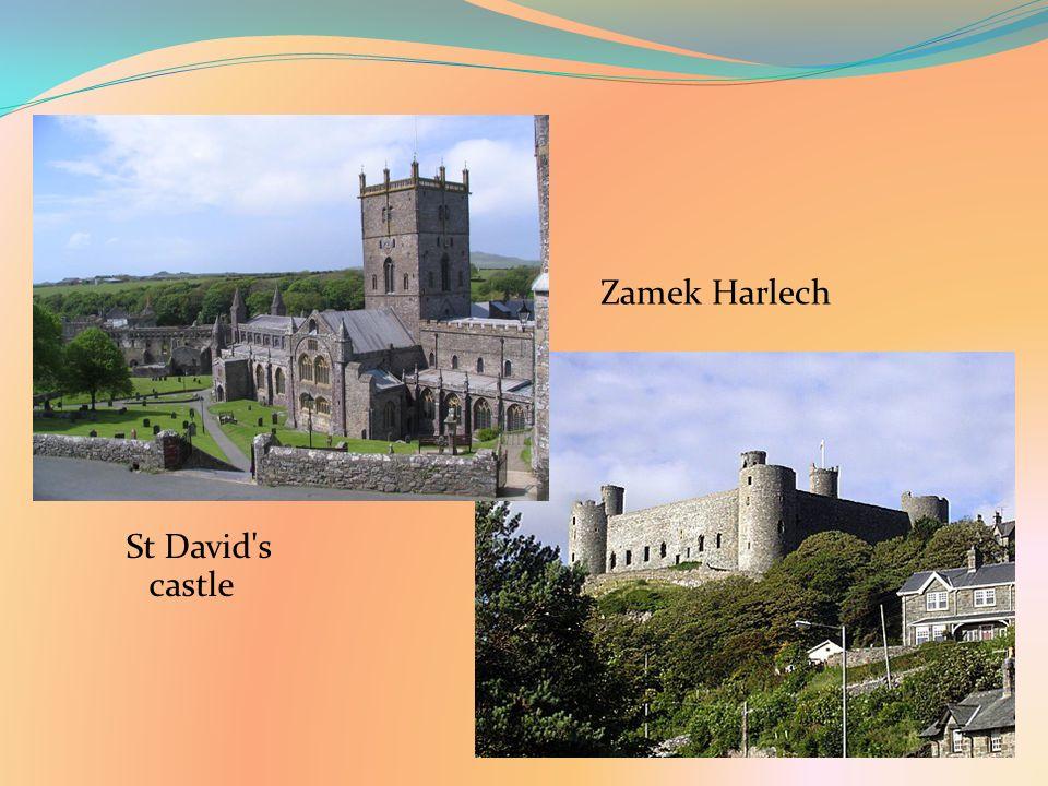 St David s castle Zamek Harlech