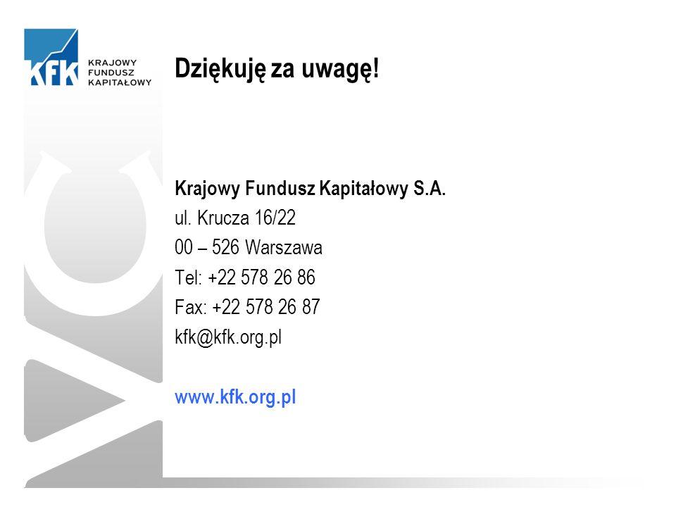 Krajowy Fundusz Kapitałowy S.A. ul.
