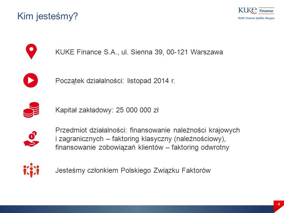 Kim jesteśmy. 4 KUKE Finance S.A., ul.