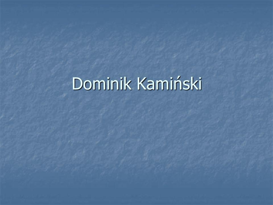 Dominik Kamiński