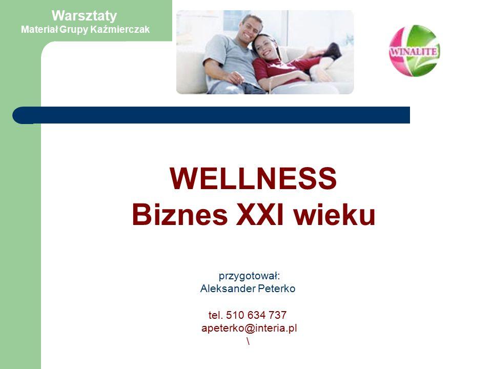 Wellness to filozofia życia, która części ludzkości przyświecała od zawsze.