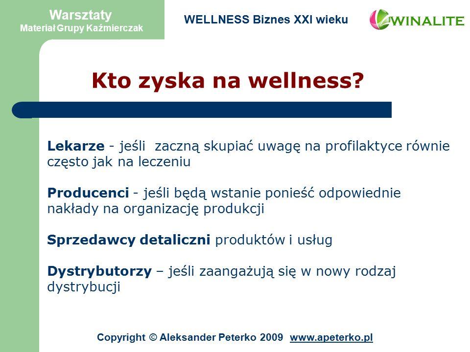 Kto zyska na wellness.