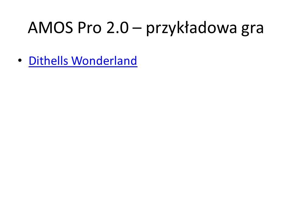 AMOS Pro 2.0 – przykładowa gra Dithells Wonderland