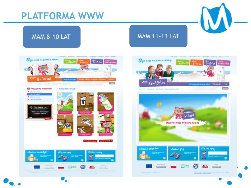 PLATFORMA WWW MAM 8-10 LAT MAM 11-13 LAT