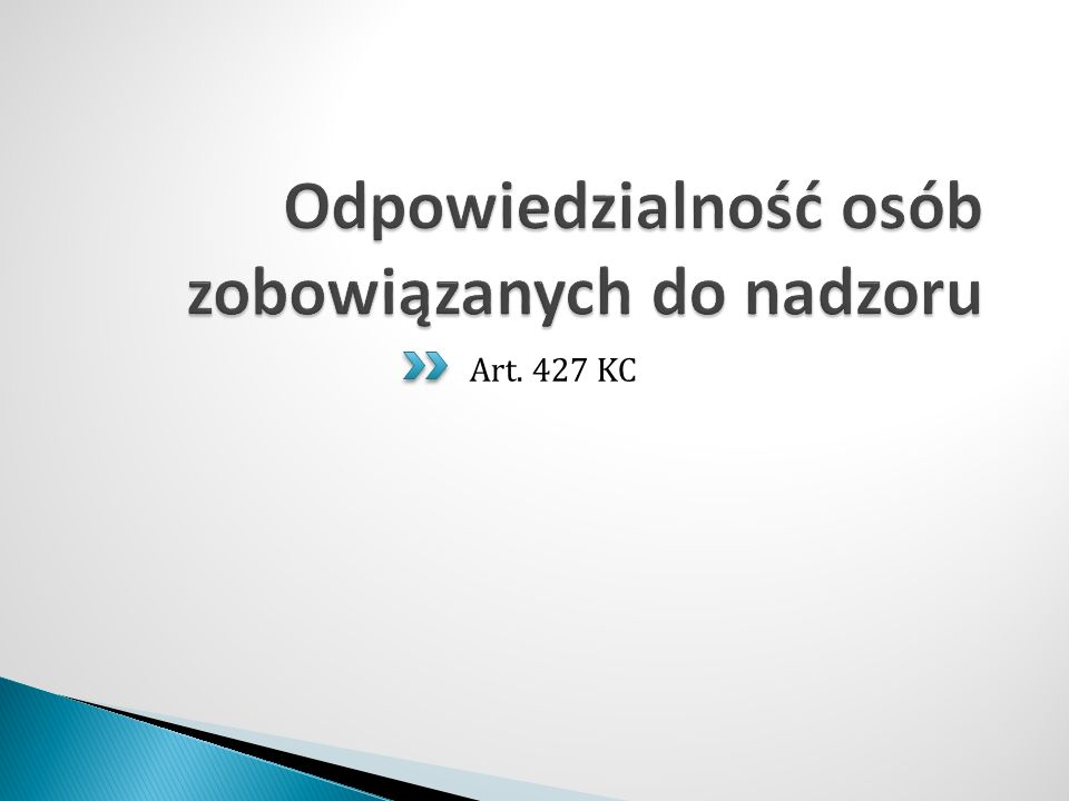 Art. 427 KC
