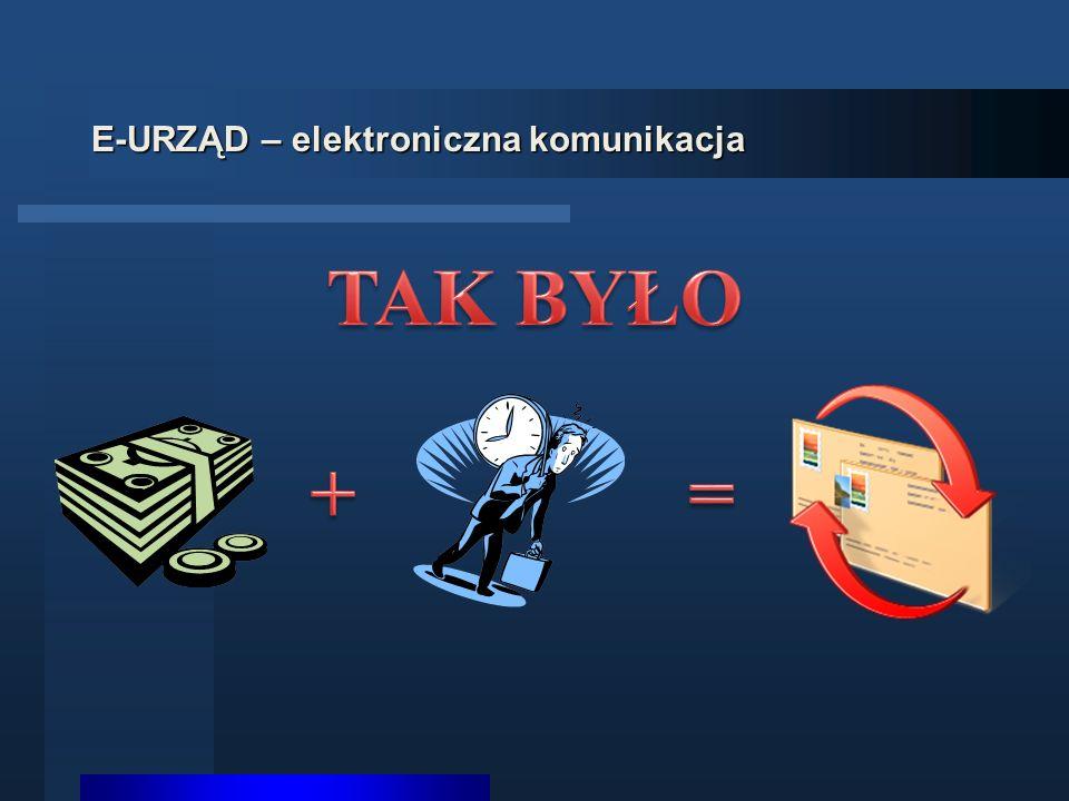 E-URZĄD – elektroniczna komunikacja