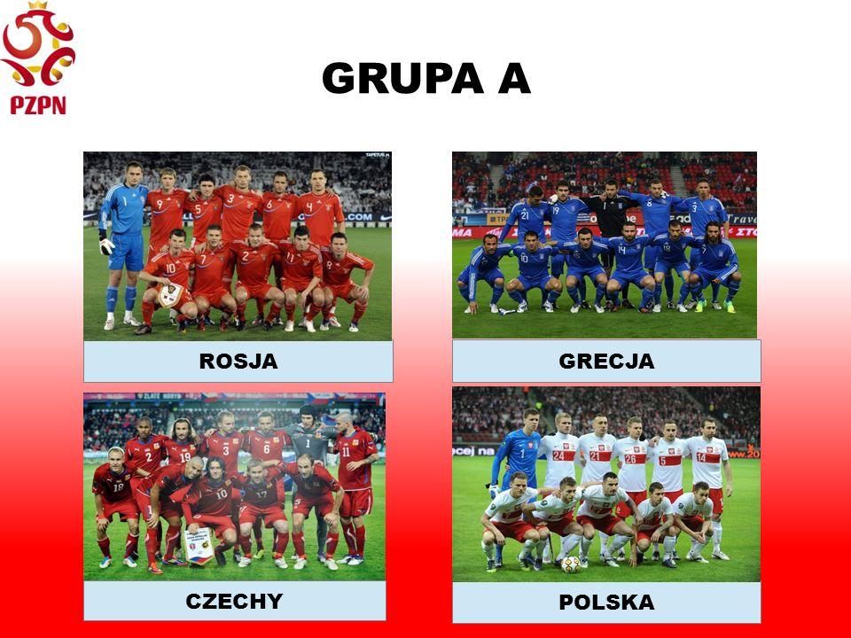 GRUPA A POLSKA GRECJA CZECHY ROSJA