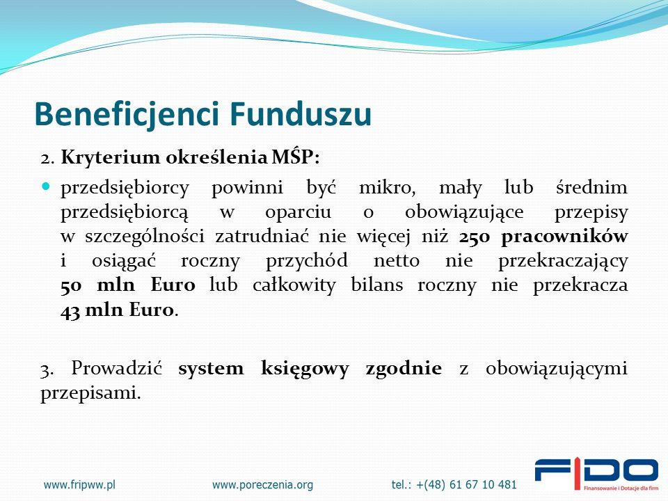 Beneficjenci Funduszu 2.