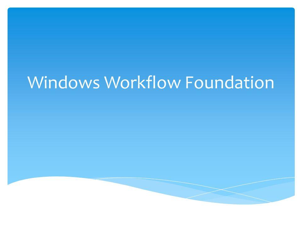 WF został wydany wraz z NET Framework 3.0 w 2006 r., a następnie zaktualizowany w NET Framework 3.5.