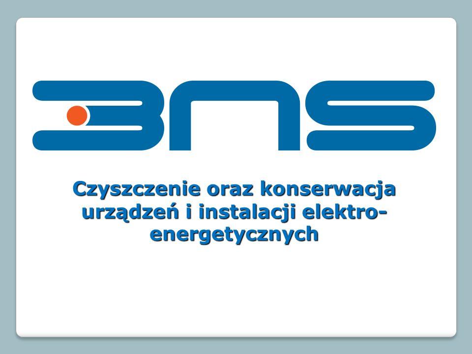 Czyszczenie oraz konserwacja urządzeń i instalacji elektro- energetycznych