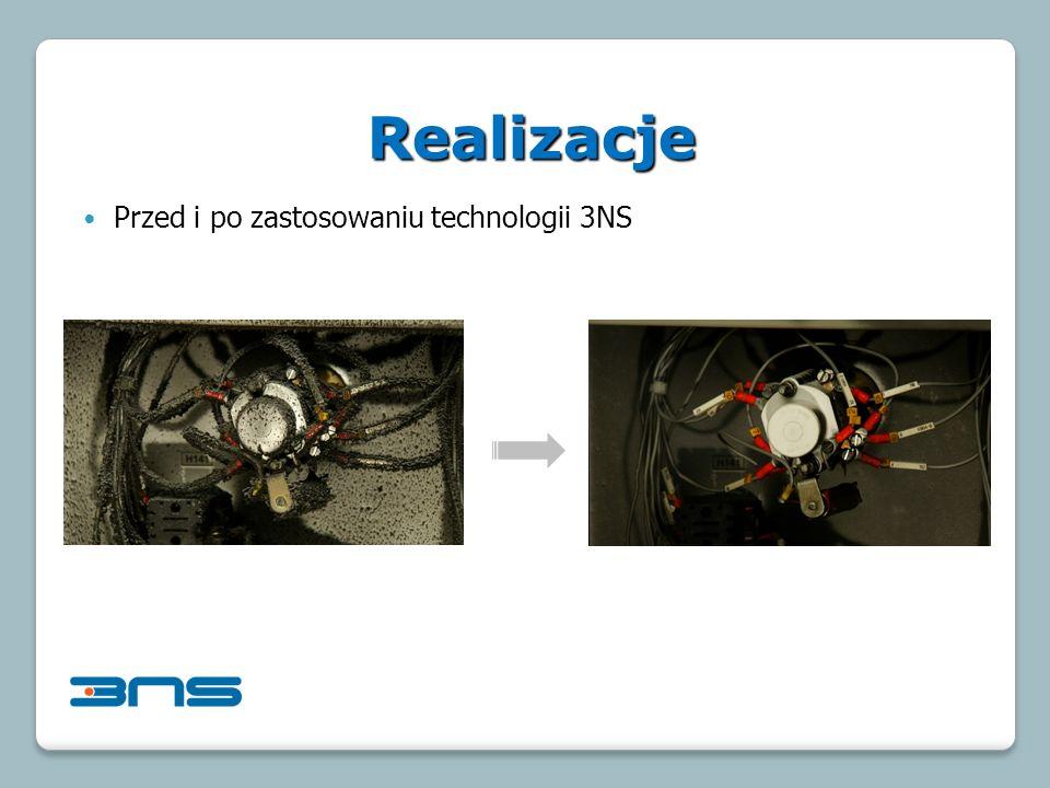 Przed i po zastosowaniu technologii 3NS Realizacje