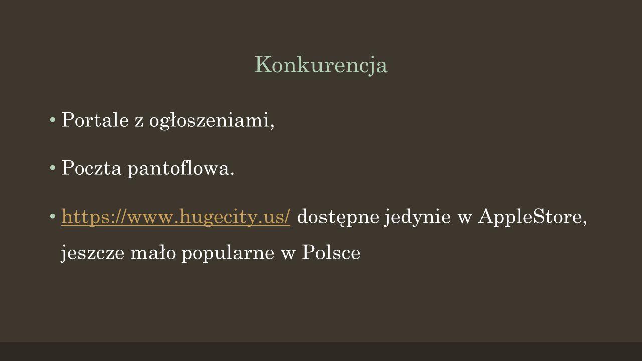 Konkurencja Portale z ogłoszeniami, Poczta pantoflowa.