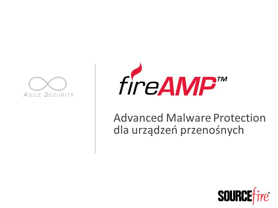 22 FireAMP Mobile Implementacja https://console.amp.sourcefire.com/get_install… Demo