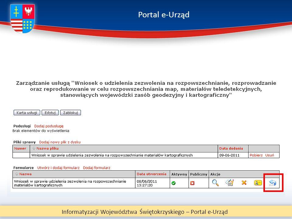 Portal e-Urząd Informatyzacji Województwa Świętokrzyskiego – Portal e-Urząd