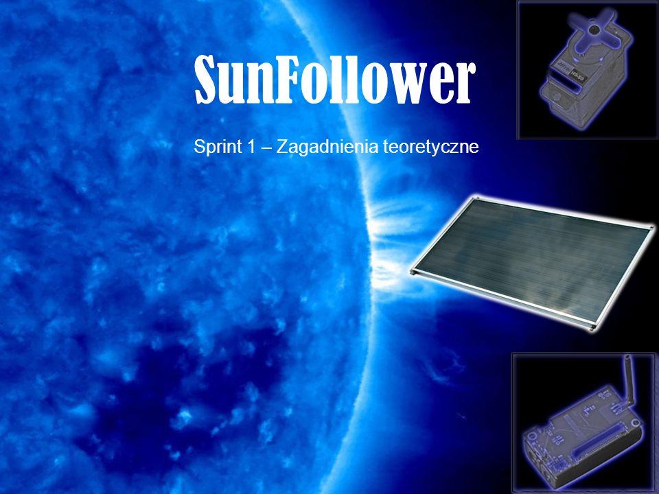 SunFollower Sprint 1 – Zagadnienia teoretyczne