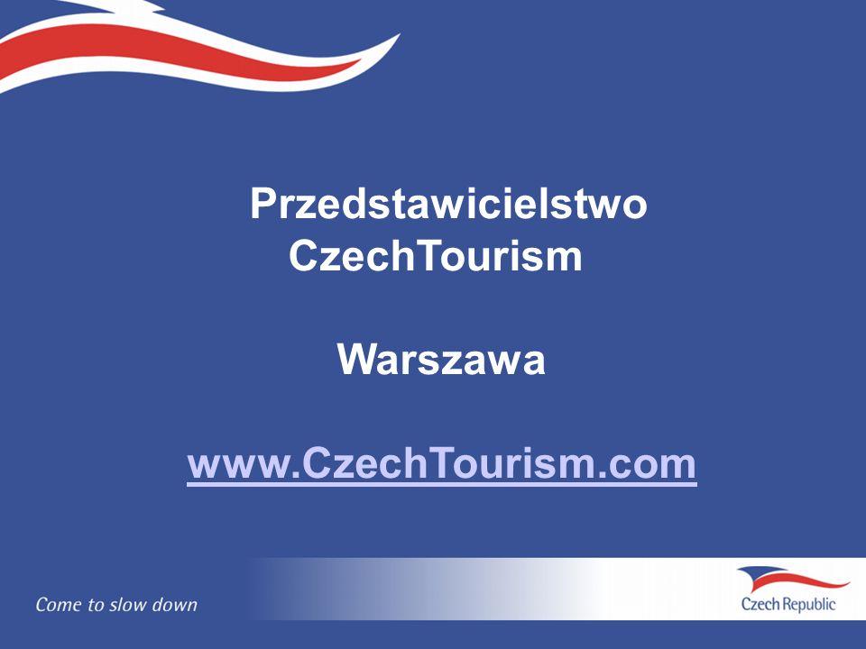 Przedstawicielstwo CzechTourism Warszawa www.CzechTourism.com