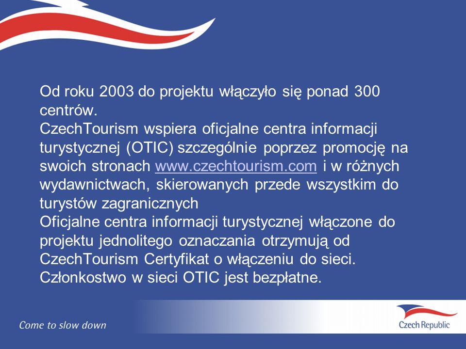 Od roku 2003 do projektu włączyło się ponad 300 centrów.