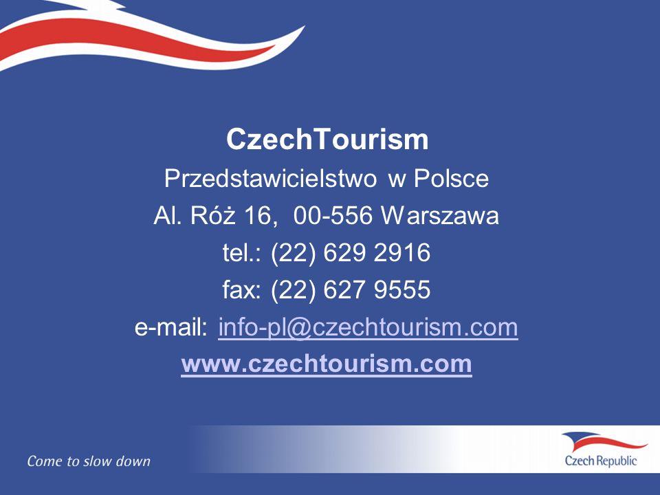 CzechTourism Przedstawicielstwo w Polsce Al.