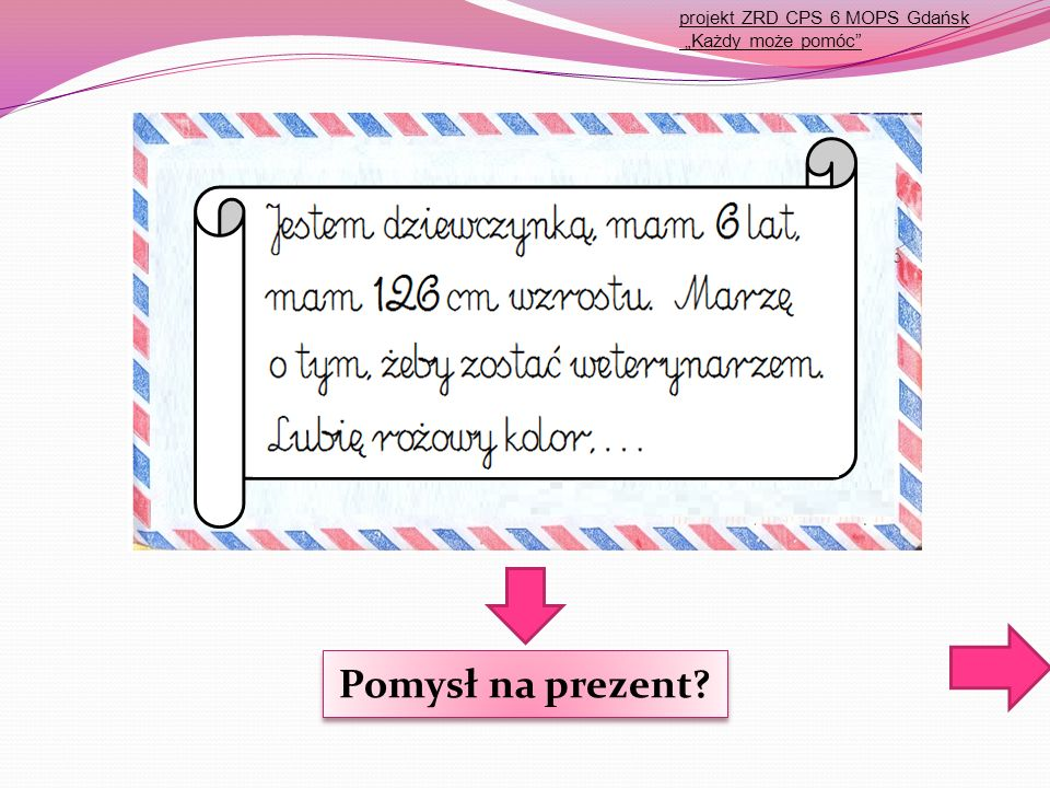 "projekt ZRD CPS 6 MOPR Gdańsk ""Każdy może pomóc"