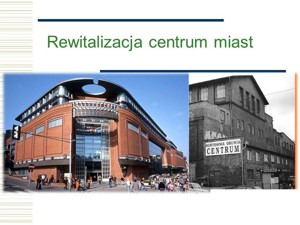 Rewitalizacja centrum miast
