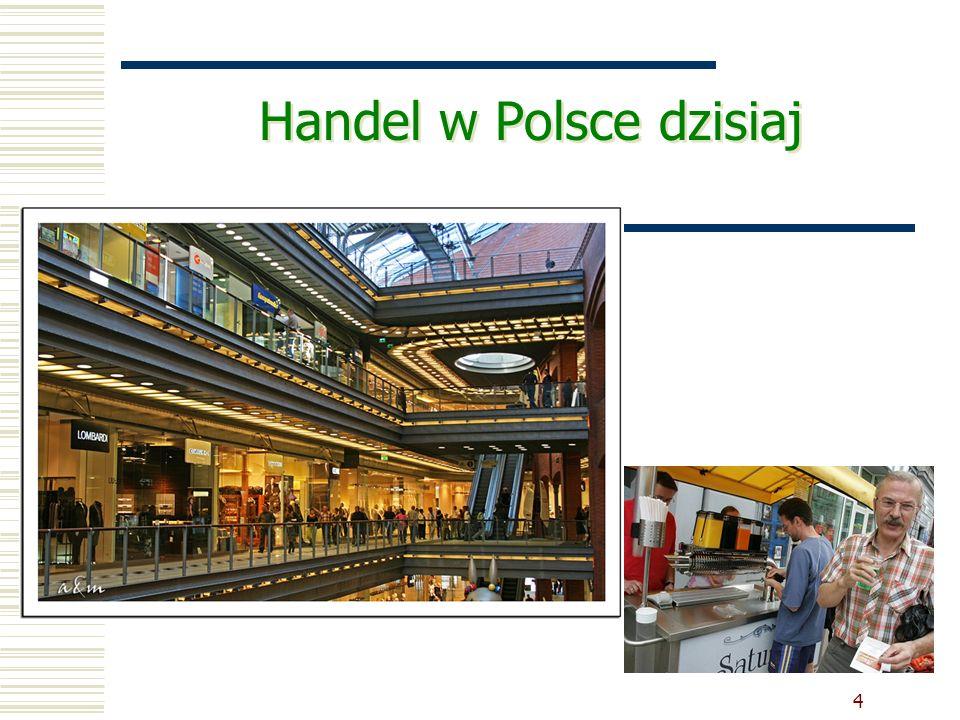 Rynek centrów handlowych w Polsce*  360 – liczba centrów handlowych w Polsce  10 539 000 m 2 - powierzchnia całkowita  8 380 000 m 2 – powierzchnia najmu GLA** (20% powierzchni handlu detalicznego w Polsce)  220m 2 – wskaźnik powierzchni najmu w centrach handlowych w przeliczeniu na 1000 mieszkańców  400 tys.